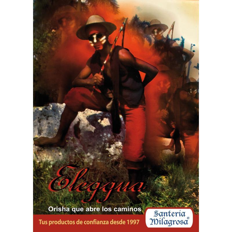 poster orisha eleggua 50 x 70 cms papel 120 grms botanica el gran poder webwinkel. Black Bedroom Furniture Sets. Home Design Ideas