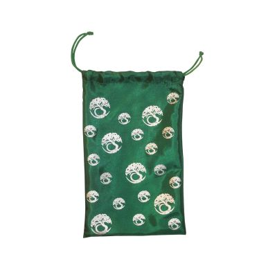 Tree of life bag green