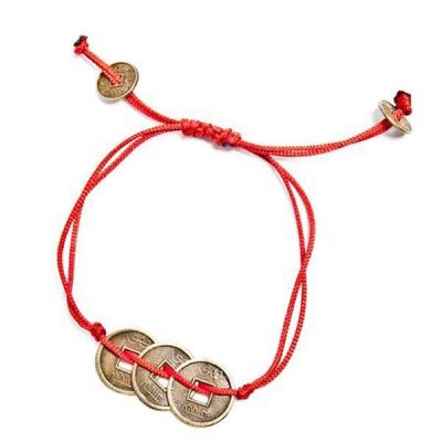 Pulsera moneda ching