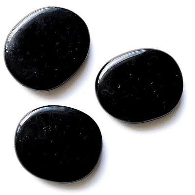 Piedra Chakra I Onix Negro 45-55 mm.