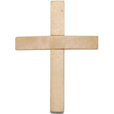Cruz Madera Natural s Cristo 07 cm aprox