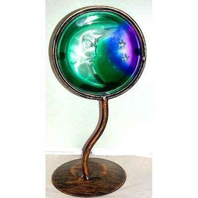 PORTA VELA Cristal Forja Luna 21 cm (HAS)