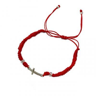 bracelet cross fishtail