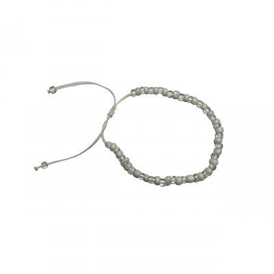 Armband wit transparant