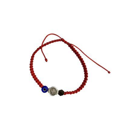 bracelet azabache turkish eye saint benedict kid004