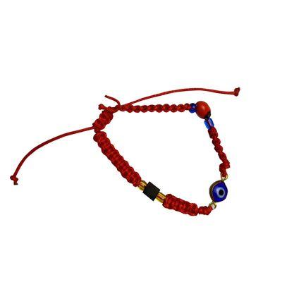 bracelet gold azabache turkish eye peony kid003