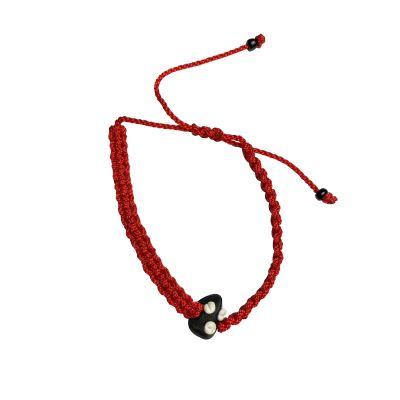 eleggua red bracelet