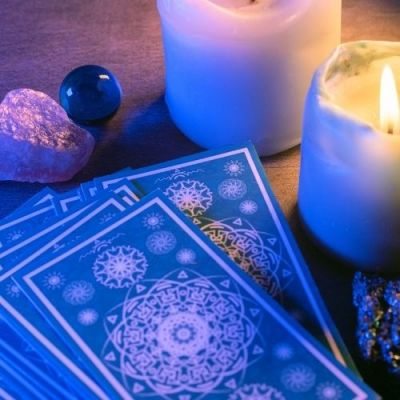 kaarsen en tarot
