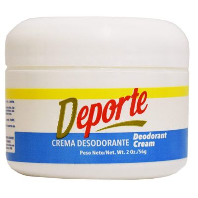 deporte deodorant cream
