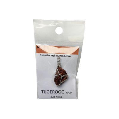 bunkstone tijgeroog rood